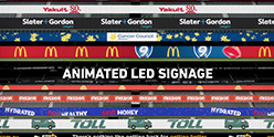 AFL Stadium and LED Signage Animation