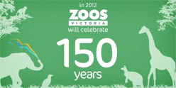 Zoos Victoria 150th Birthday