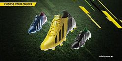 Adidas f50 Animated Advertisement