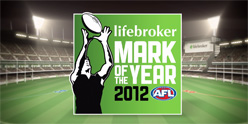 Lifebroker AFL mark of the year